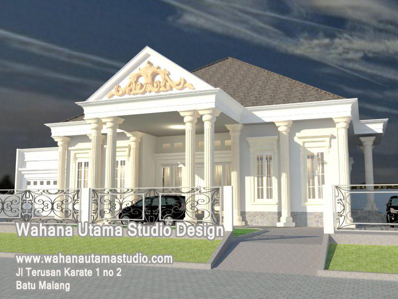 Desain Rumah Klasik 1 Lantai - Situs Properti Indonesia
