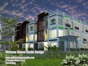 Jasa Arsitek Rumah Kos Mewah