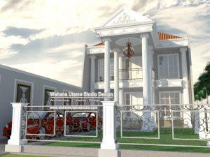 Jasa Arsitek Rumah Eropa Klasik Bapak Yudi Purnanugraha di Palembang