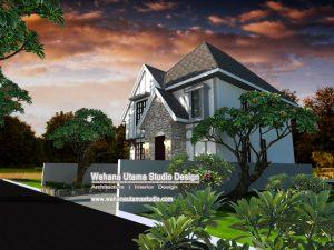 Desain Rumah Sederhana Farm House Style
