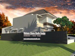 Gambar Desain Rumah Minimalis Modern Bapak Meylarto Rerung