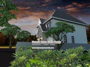 Desain Rumah Farmhouse Minimalis