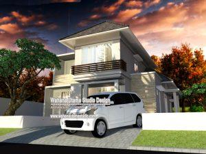 Desain Rumah Minimalis Modern Tampak Depan