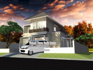 Gambar Desain Rumah Minimlais Modern 15m x 20 m