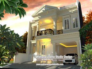 Model Rumah Mewah Klasik Eropa