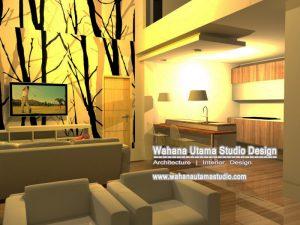 Desain 3D Interior Rumah Bapak Luis Martins