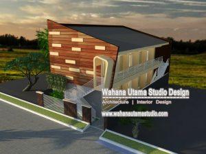 Desain Kontrakan Minimalis 2 Lantai - Ibu Khusnul Sumanrana di Jakarta