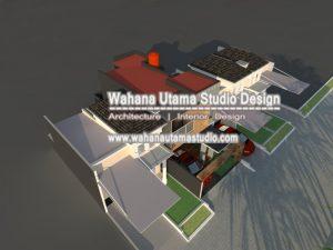 Gambar Desain Denah Rumah Kontemporer