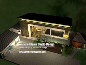 View Desain Rumah Modern Kontemporer Dari Atas
