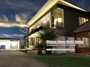 Tampilan Desain Rumah Bapak Luis Martins