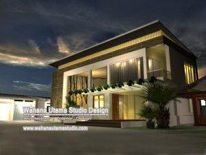 Desain Rumah Kontemporer Modern