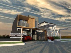 Tampilan Rumah Modern Kontemporer