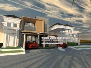 Contoh Desain 3D Rumah Kontemporer