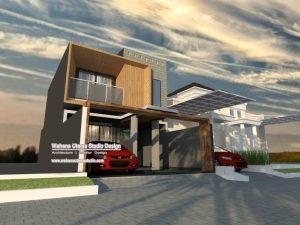 Jasa Arsitek Rumah Modern Kontemporer 2 Lantai