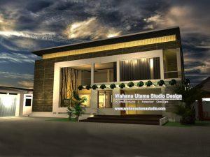 Desain Fasad Rumah Bapak Luis Martins