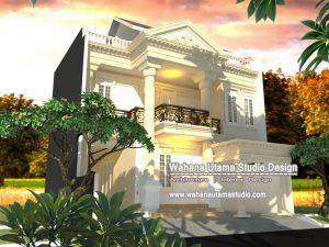 Model Gambar Rumah Mewah Klasik Eropa