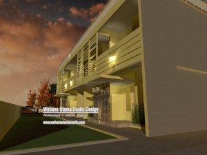 Desain Kontrakan Dan Rumah Kos 2 Lantai