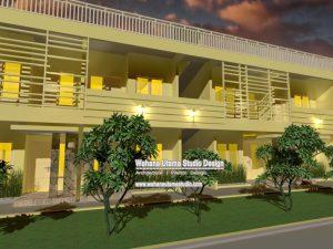 Desain Kontrakan Dan Rumah Kos Bapak Syarif Hidayat di Sukabumi