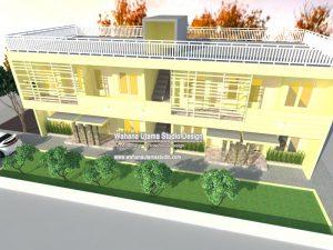 Arsitek Kontrakan Dan Rumah Kos 2 Lantai