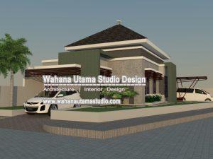 Jasa Arsitek Rumah Minimalis Modern Elegant Ibu Endah Wahyuningsih Di Tangerang