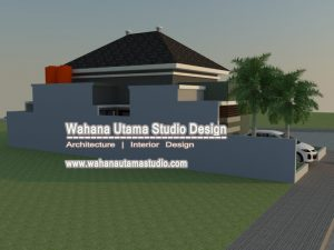 Gambar Desain 3D Rumah Minimalis Modern 1 Lantai