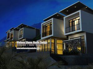 Desain Arsitek Villa Di Batu
