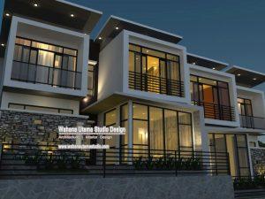Jasa Arsitek Villa Modern Kontemporer Ibu Anies Di Batu Malang