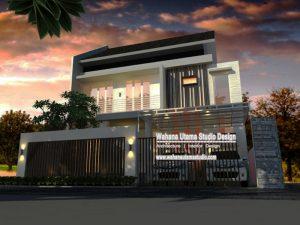 Desain Rumah Minimalis Bapak Ferry S. Di Jakarta
