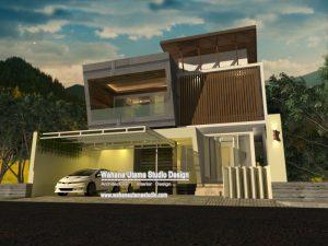 Jasa Arsitek Rumah Modern Mewah Bapak Ace Dunsu Di Jakarta