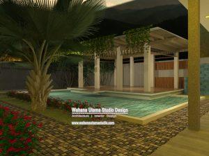 Gambar Rumah Modern Mewah Ada Kolam Renang