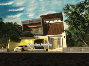 Jasa Gambar Rumah Modern Mewah Jakarta