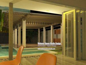 Gambar 3D Interior Rumah Modern Mewah