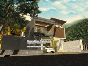 Jasa Desain Rumah Modern Mewah Bapak Ace Dunsu Di Jakarta