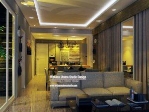 Gambar 3D Interior Ruang Tamu