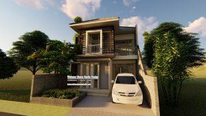 Gambar 3D Rumah Modern Terbaik