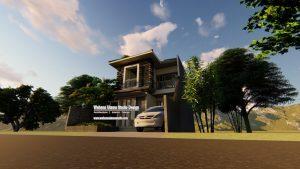 Gambar Desain Arsitek Rumah Modern Sederhana Elegan