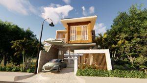Jasa Desain Rumah Modern Bapak Agustinus K. Di Bekasi