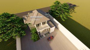 Arsitek Desain Rumah Modern Tropis 2 Lantai