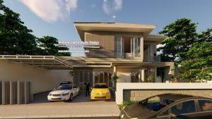 Jasa Arsitek Rumah 2 Lantai Bapak Rudi N Salim Di Malang