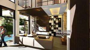 Desain Interior Rumah Bapak Jamal di Jakarta