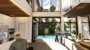 Desain Rumah Modern Kontemporer Bapak Jamal di Jakarta