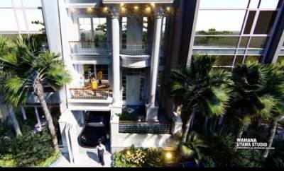 Desain Rumah Mewah Ibu Maxi Di Jakarta