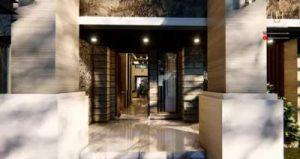 Desain Gambar 3D Rumah Style Bali Modern