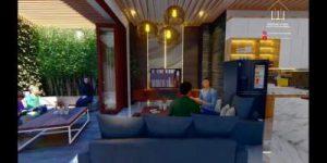 Desain Interior Rumah Ibu Mega