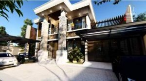 Desain Rumah Bali Modern Bapak Yunan Kediri