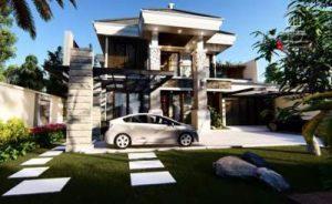 Desain Rumah Bapak Yunan Kediri