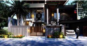 Desain Rumah Ibu Mega Jakarta