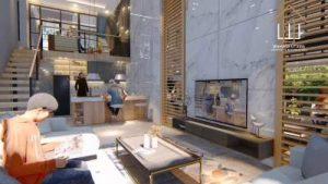 Desain Interior Rumah Split Level