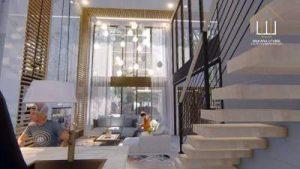 Desain Interior Rumah Split Level Mewah