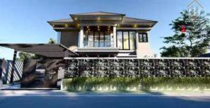 Desain Rumah Tropis Interior Mewah